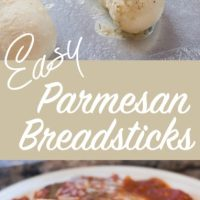 Mom's Easy Parmesan Breadsticks