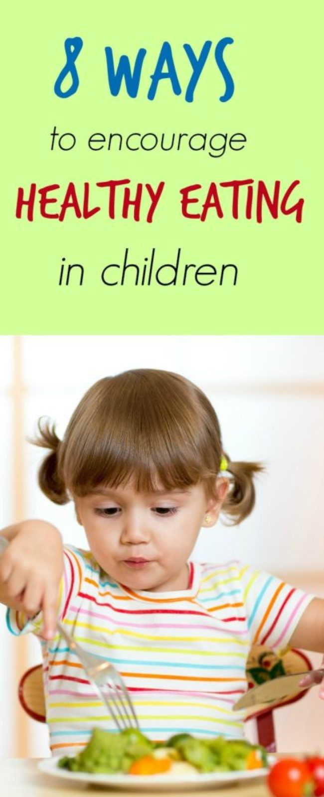 Always struggling to get your kids to eat healthier? Here are a few ways to make that easier.