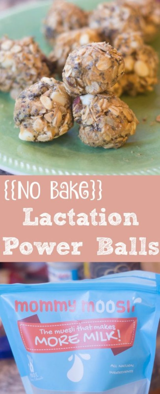 Need to increase your breastmilk supply? Look no more. These no bake lactation power balls will help - and they taste delicious (even if you AREN'T a lactating mama.)