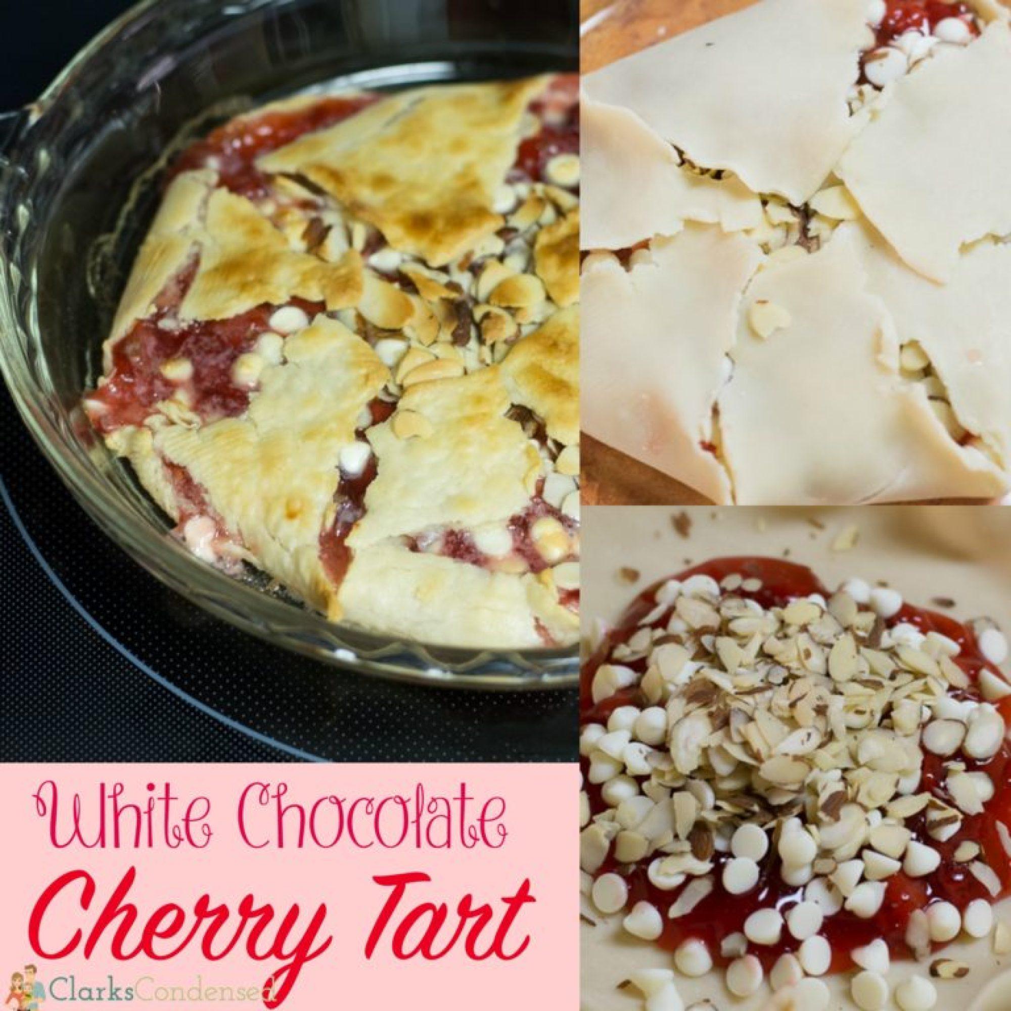 whitechocolatecherrytartsquare