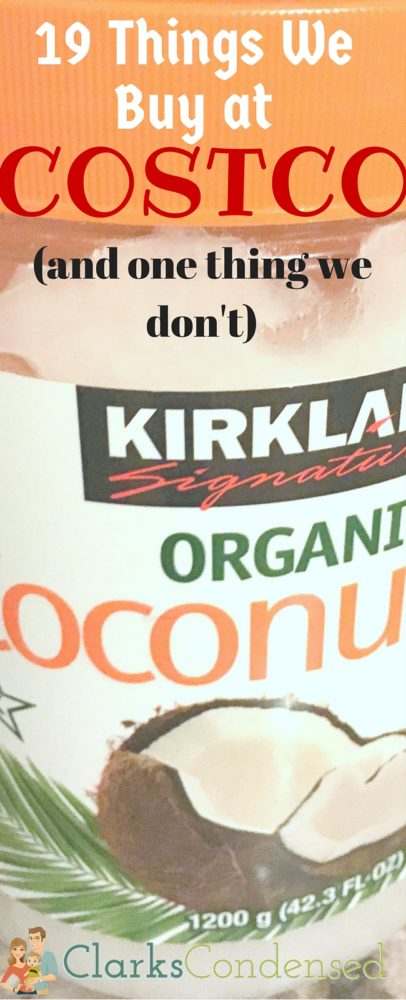 What are the best things to buy at Costco? Here are 19 things we LOVE to buy at Costco, and one thing we never buy.  via @clarkscondensed