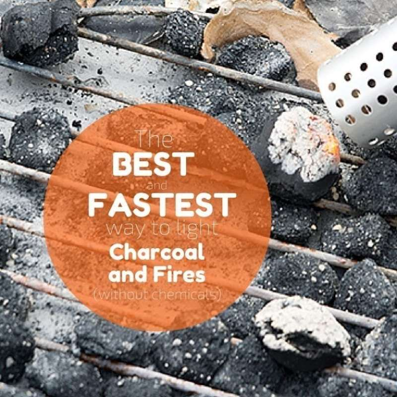 The Best Way to Start Charcoal or a Fire (Without Lighter ...