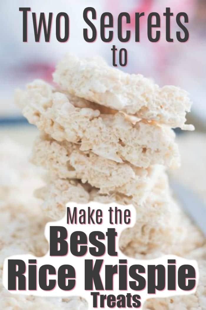 Rice Krispie Treats / Best Rice Krispie Treats / Crispy Rice Treats / Gluten Free Recipes / Gluten Free Desserts via @clarkscondensed