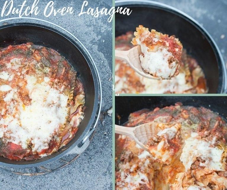 Dutch Oven Lasagna Recipe