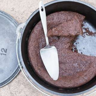 Dutch Oven Chocolate Cake Recipe