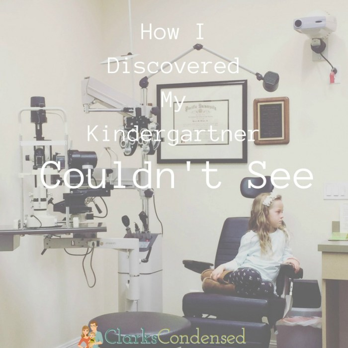 How I Discovered That My Kindergartner