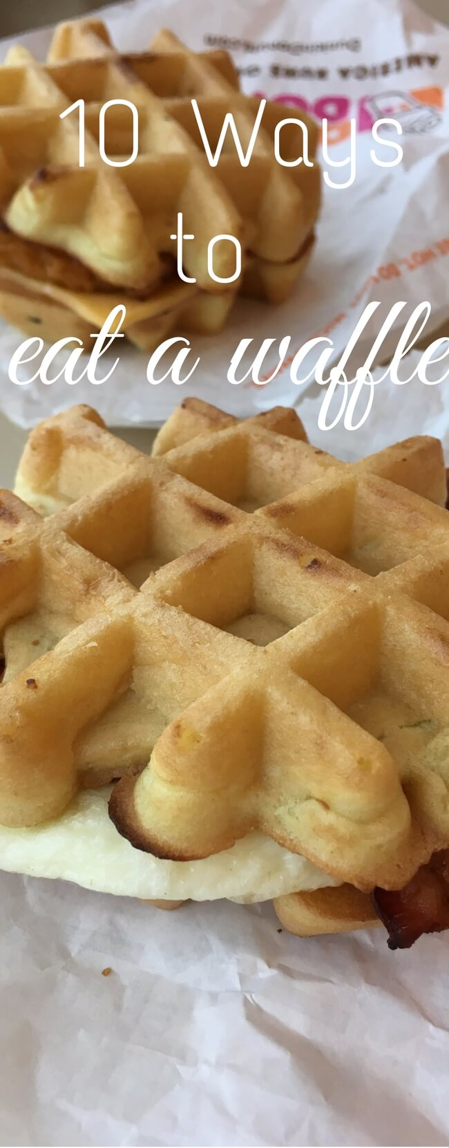 10 Awesome Ways to Eat a Waffle via @clarkscondensed