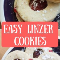 Easy Linzer Cookies
