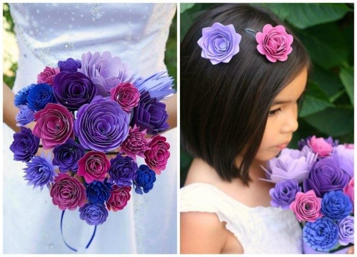 cricut bouquet