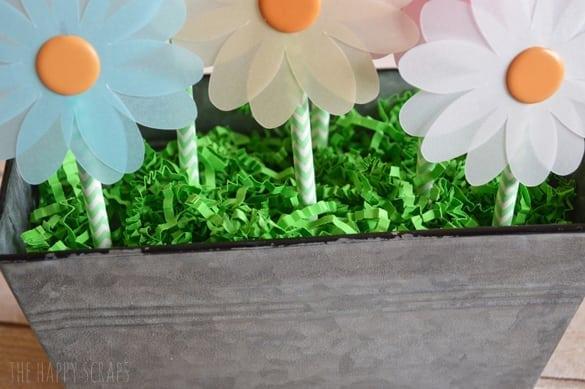 vellum spring flowers