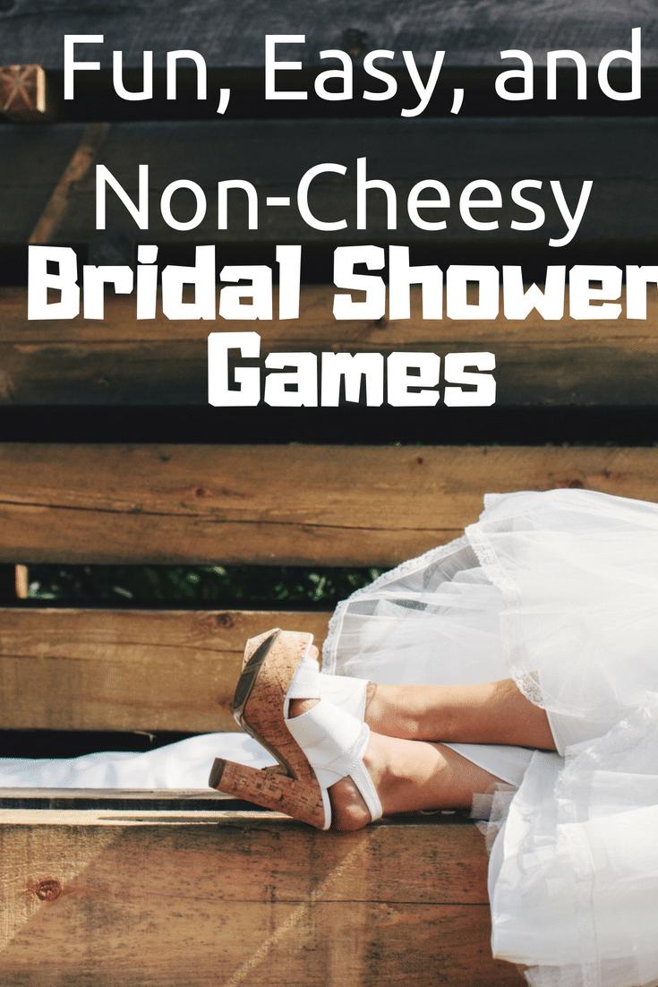 easy bridal shower games