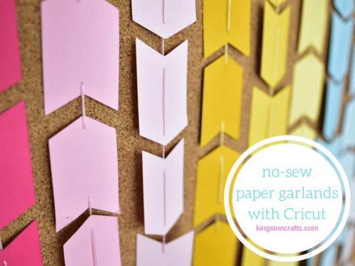 no sew paper garland
