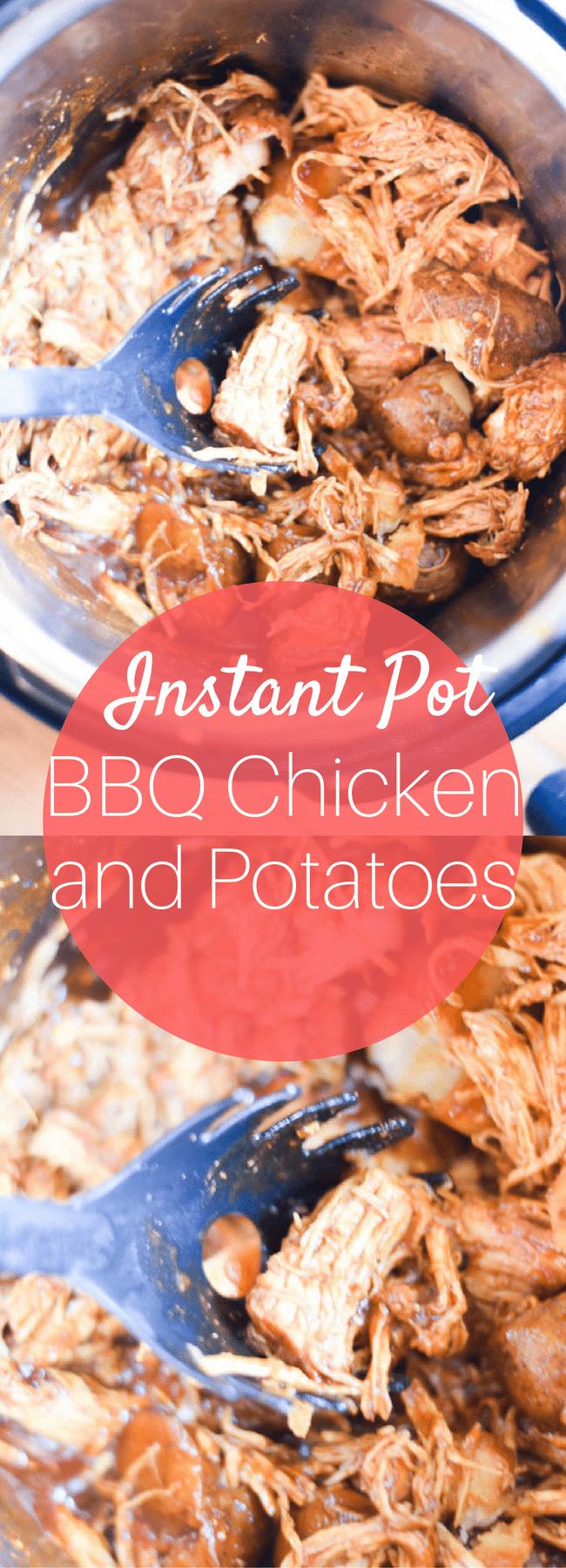 Instant Pot Chicken / Instant Pot BBQ Chicken / Chicken Instant Pot Recipes / Instant Pot Recipes / Easy Instant Pot / Easy Chicken Recipes / Chicken Dinner / Dinner Recipes / Dinner