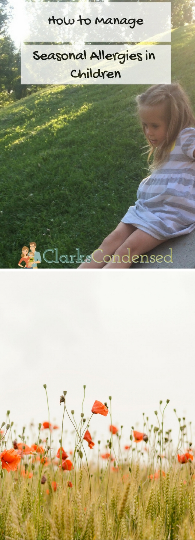 How To Help Manage Seasonal Allergies in Children via @clarkscondensed