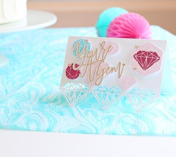 you\'re a gem card