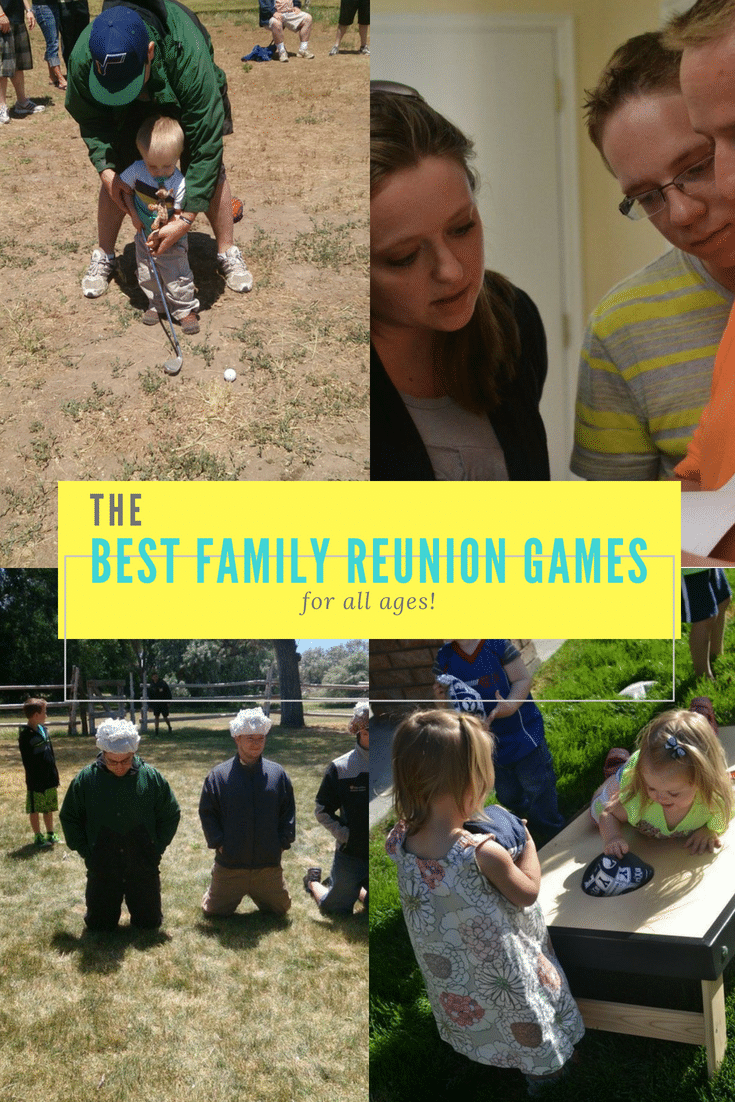 Seven Awesome Family Reunion Games / Family Reunion Games / Family Reunion / Family Reunion Activities via @clarkscondensed