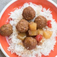 Instant Pot Hawaiian Meatballs