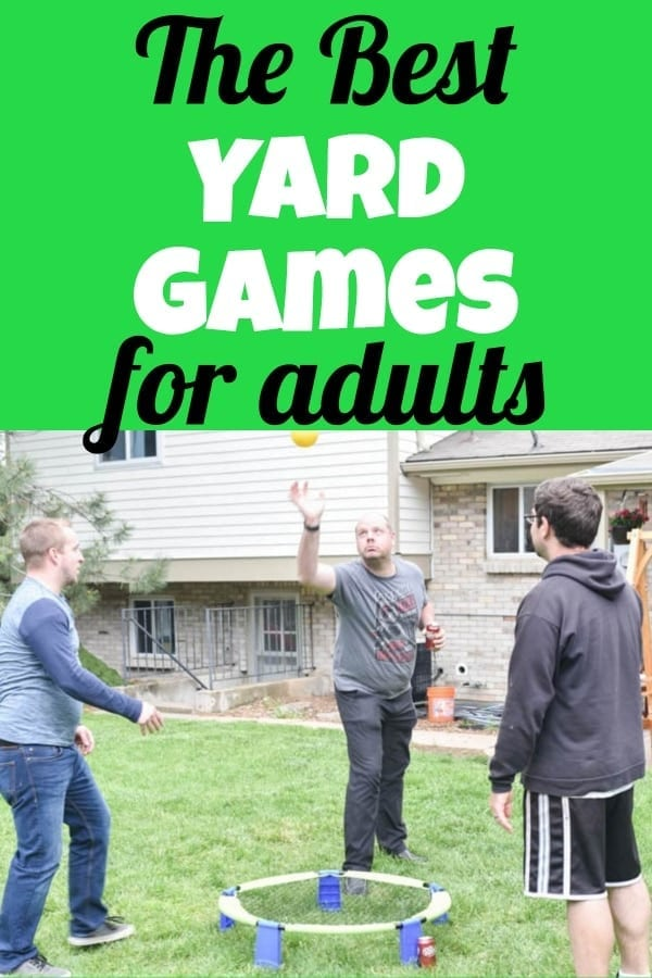 the best outdoor yard games for adults kid friendly too
