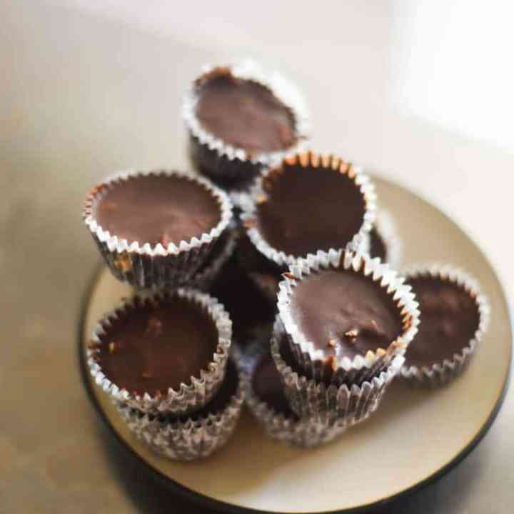 Better-for-you Homemade Peanut Butter Cups