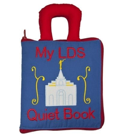 LDS Quiet Book printed bag