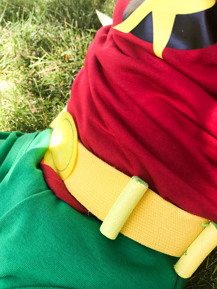 Robin costume for toddlers
