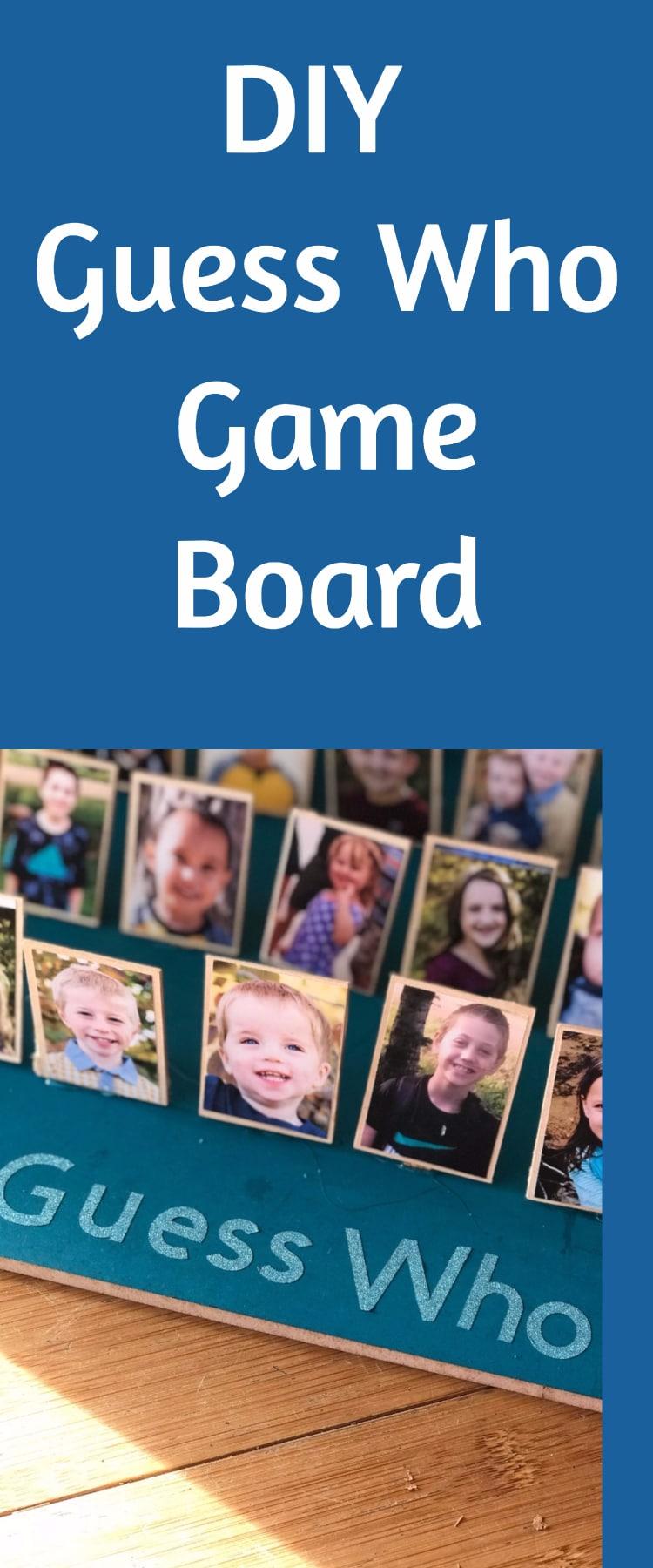 DIY Guess Who Board Game Tutorial / DIY Gift Ideas / #Christmas / Christmas Project / Cricut Projects / Cricut Explore Air / Cricut Maker #Cricut via @clarkscondensed