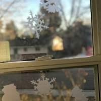 DIY Custom Window Cling