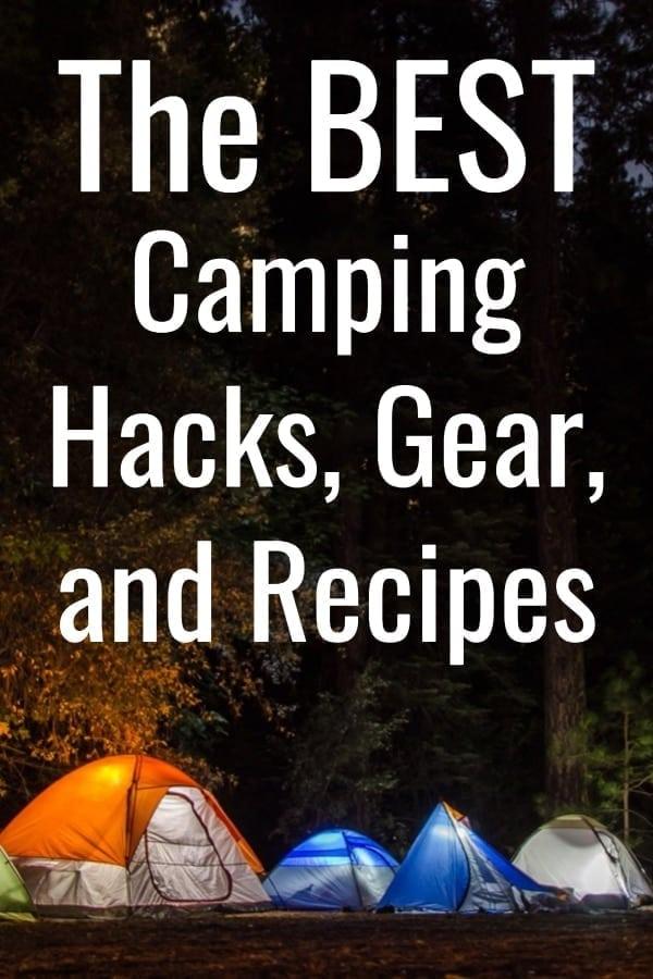 Camping hacks / camping tips / camping life hacks / camping tips and tricks hammock camping tips, camping tips for beginners / tips for camping / #camping via @clarkscondensed