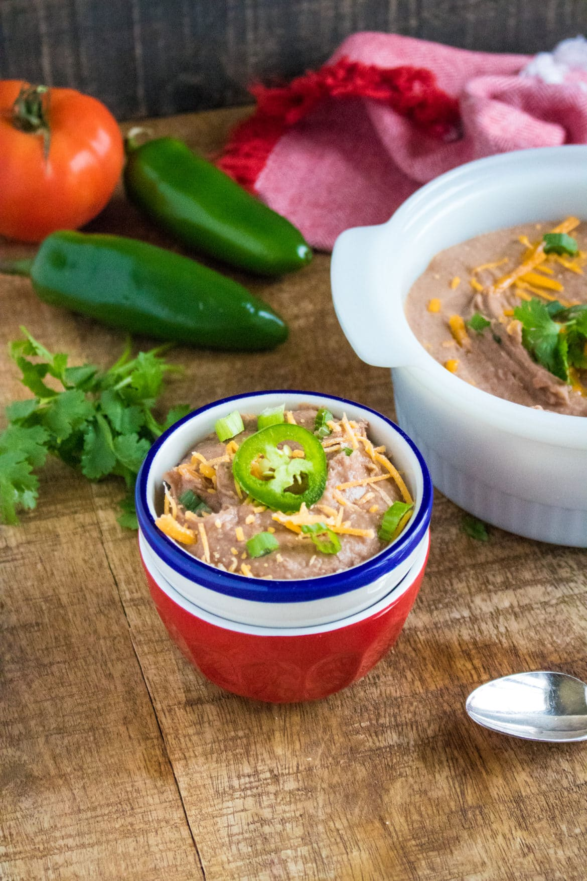 Refried Beans in Pressure Cooker