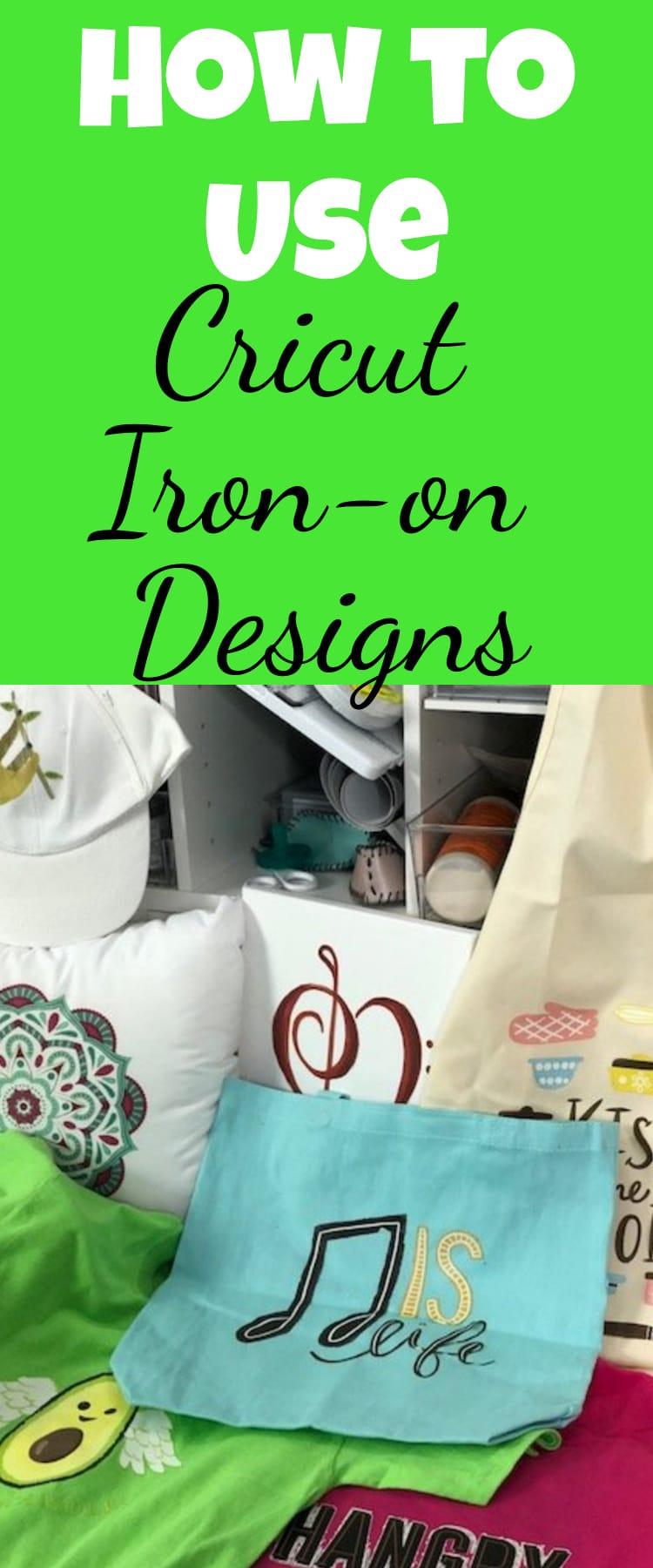Cricut iron-on / cricut iron-on designs / cricut rpojects / diy projects / heat transfer projects via @clarkscondensed