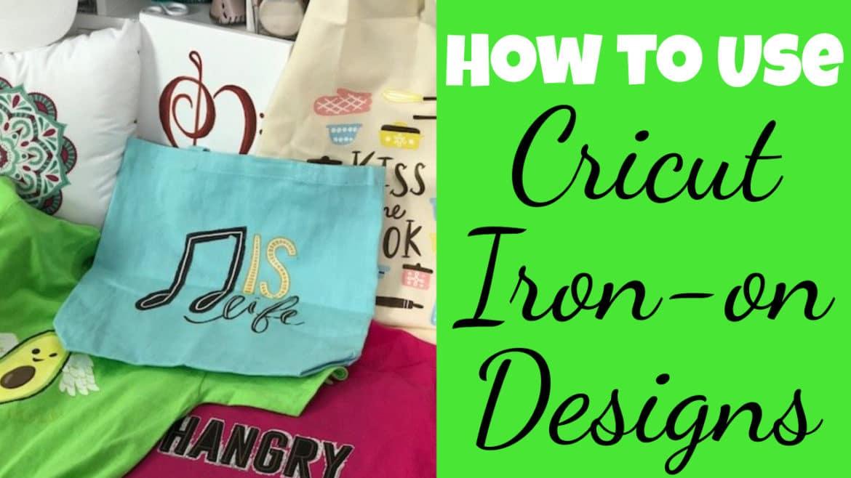 cricut iron on designs