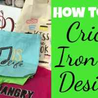 How to Use Cricut Iron-on Designs