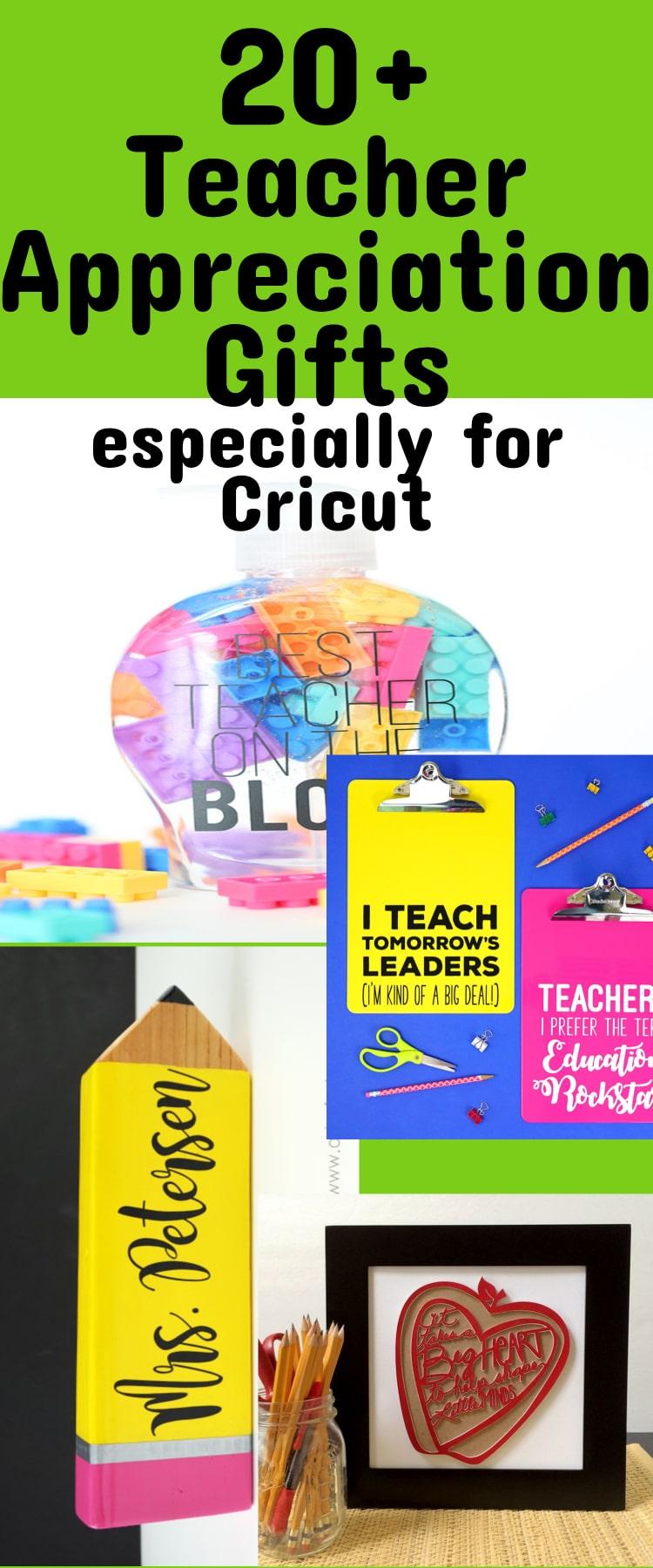Cricut Teacher Gifts
