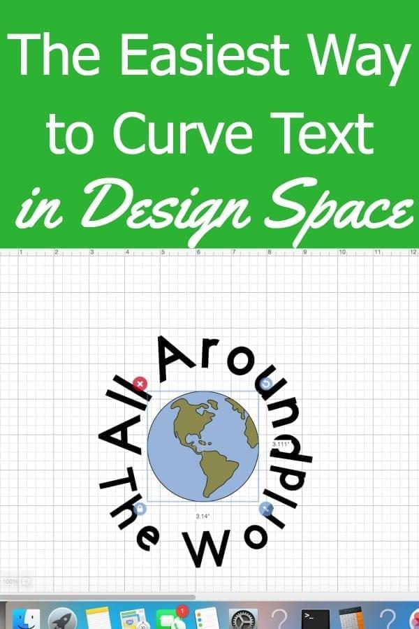 Curve Text Cricut Design Space