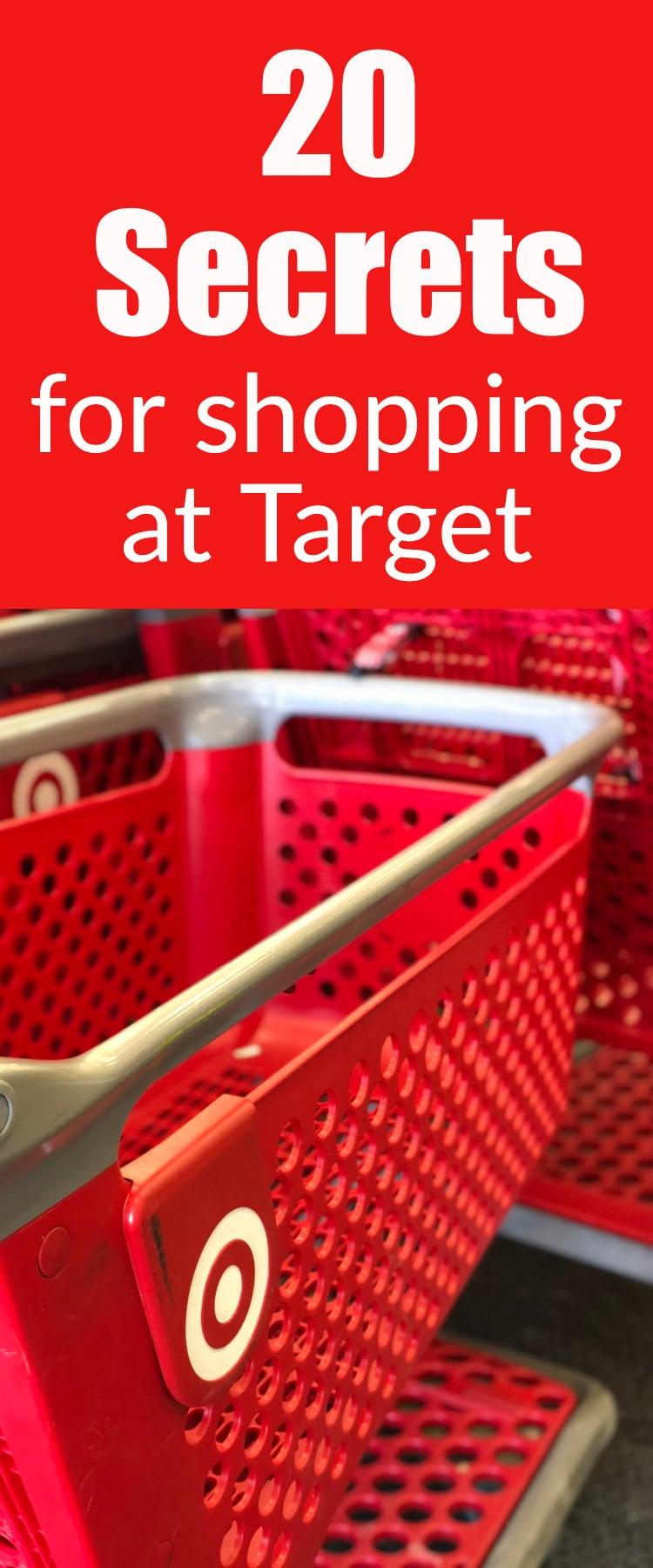 20 Target Secrets That Will Make You Love Target Even More via @clarkscondensed