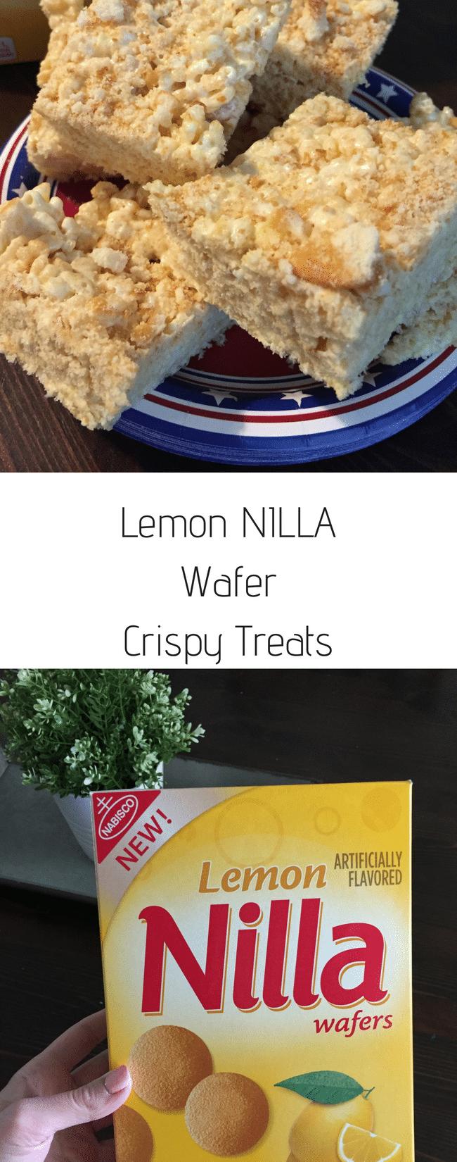 You'll love these Crispy Treats using Lemon NILLA Wafers! #NILLASummerParty, #IC #ad via @clarkscondensed