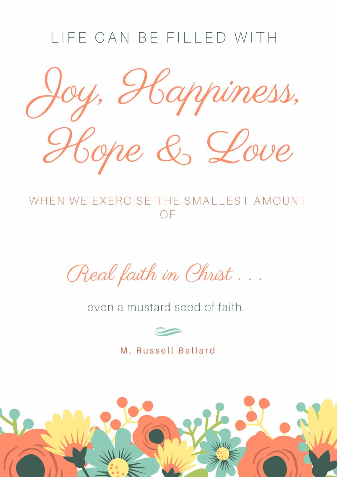 May LDS Ministering Printable via @clarkscondensed