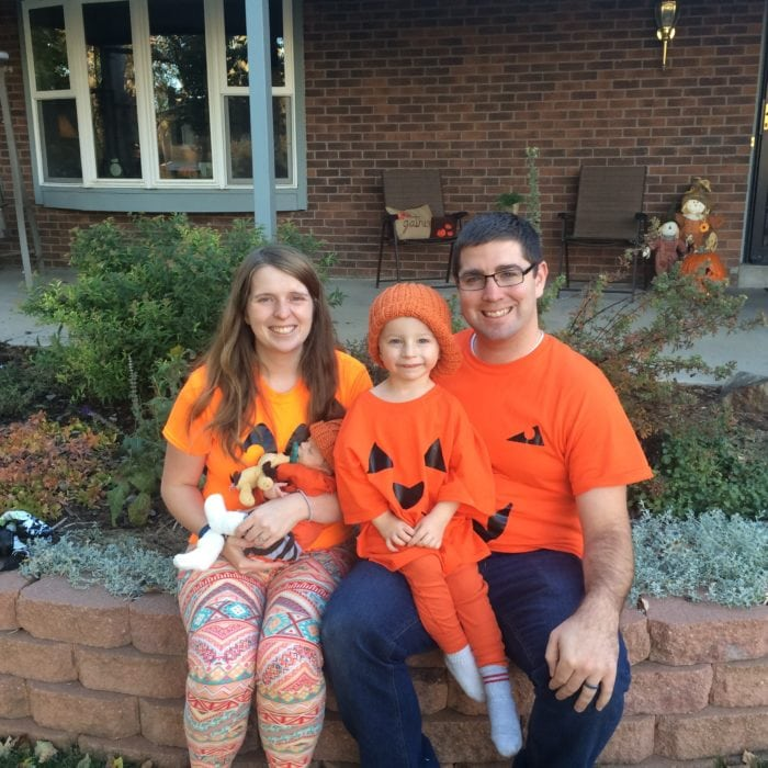 family pumpkin costumes