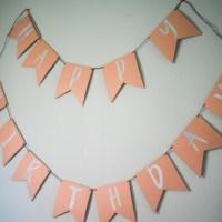 DIY Cricut Birthday Banner with Chipboard - Cricut Maker versus Cricut Explore Air