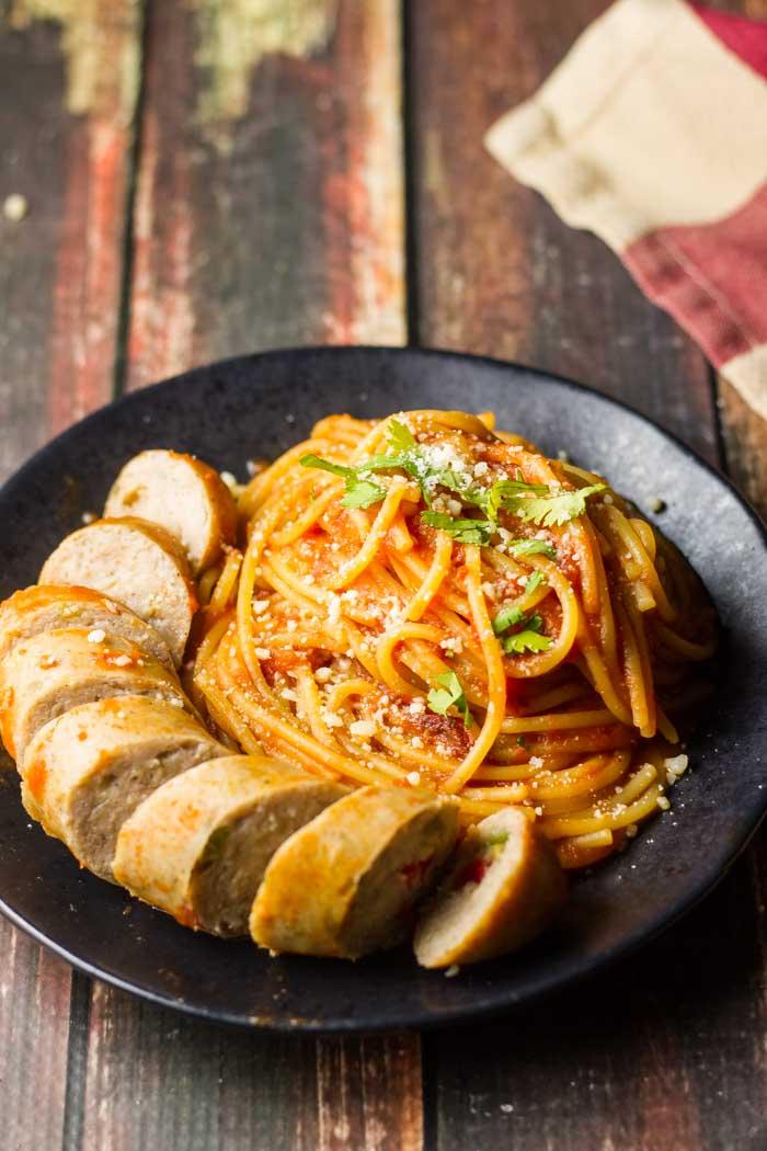Chipotle Tomato Pasta