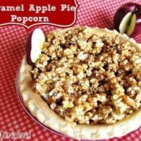 Gourmet Caramel Apple Pie Popcorn