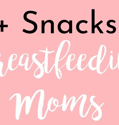 Best Breastfeeding Snacks image