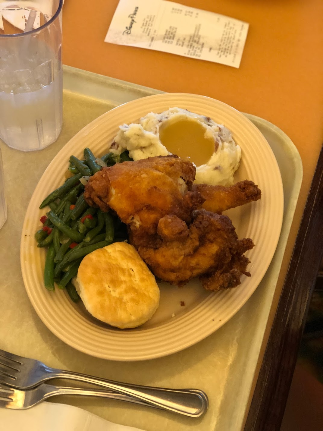 This is the adult sized meal, but you can see how tasty it looks! We split this between Forrest and me