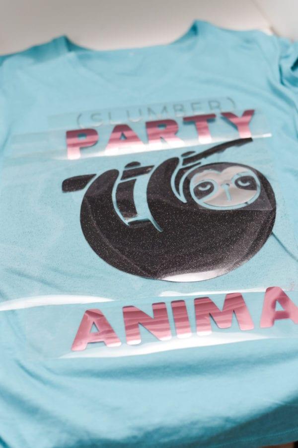 A birthday cake shirt