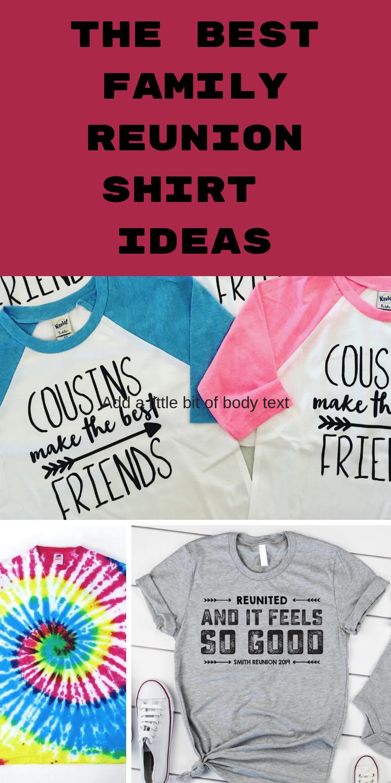 family reunion t-shirts / family reunion shirt ideas / family reunion ideas / ideas for family reunion #familyreunion  via @clarkscondensed