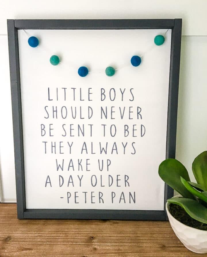Baby Boy Nursery Art
