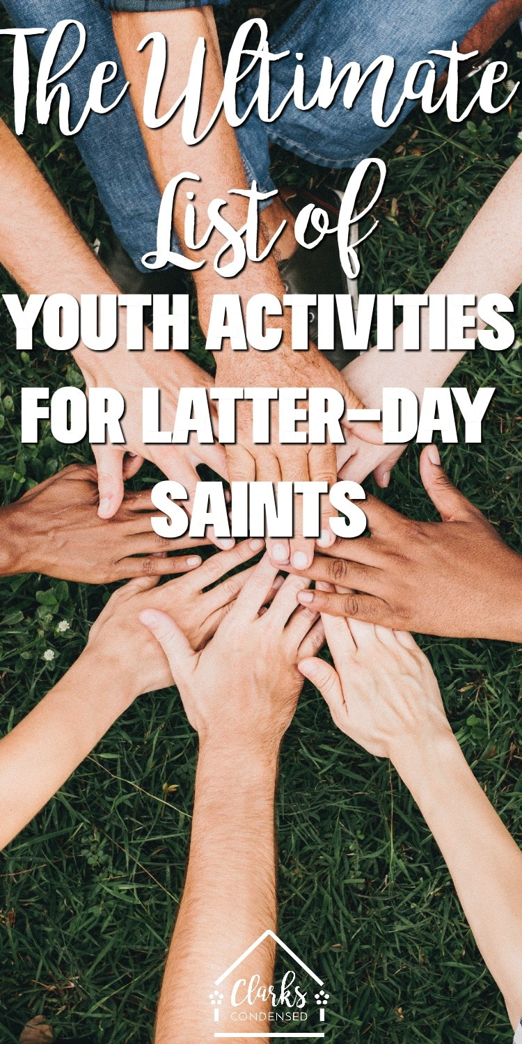 Latter-day saint mutual activities / youth group ideas / lds mutual ideas / mutal ideas / ideas for young women / young women activities via @clarkscondensed