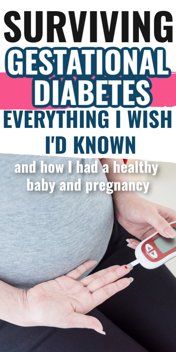 Surviving Gestational Diabetes: Everything I Wish I'd Known - How to have a healthy Gestational diabetes pregnancy - including gestational diabetes meal ideas, snacks, and advice. via @clarkscondensed