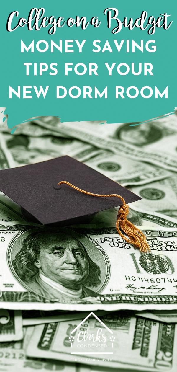 College Student Tips / College Tips / Money Saving Tips / Tips for College / #College #CollegeLife #CollegeStudents via @clarkscondensed