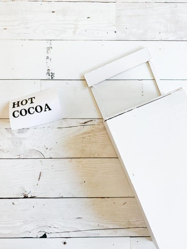 Hot Cocoa Shelf